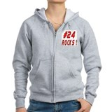 24 Rocks ! Zipped Hoody