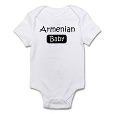 Armenian baby Infant Bodysuit