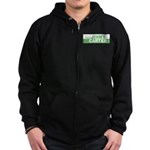 Re-Elect Jimmy Carter Zip Hoodie (dark)