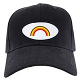 Brown Rainbow Baseball Hat