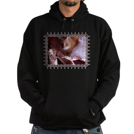 Cat and Ballet Slippers Hoodie (dark)