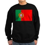 Portuguese Flag of Portugal Sweatshirt (dark)
