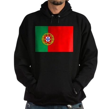 Portuguese Flag of Portugal Hoodie (dark)