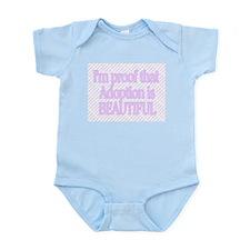 I'M PROOF THAT ADOPTION IS BEAUTIFUL Infant Creepe