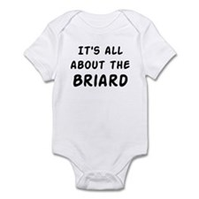 about the Briard Infant Bodysuit