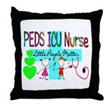 Pediatrics/PICU Throw Pillow