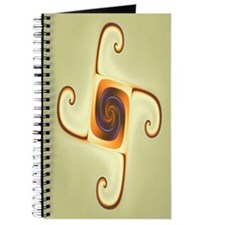 Emblem Fractal Art Journal
