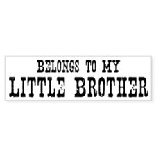 Belongs to Little Brother Bumper Sticker (10 pk)