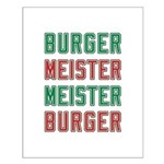 Burger Meister Meister Burger Small Poster