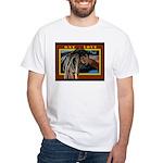 Conscious Rastafarian Culture Art White T-Shirt