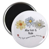 Allow Lives to Bloom 2.25&quot; Magnet (10 pack)