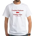 Carolina Outdoors Fishing Tea White T-Shirt
