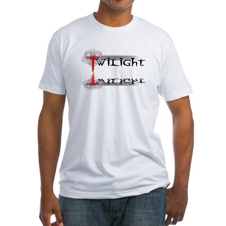 Twilight Reflections Fitted T-Shirt