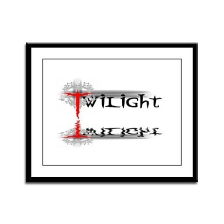 Twilight Reflections Framed Panel Print