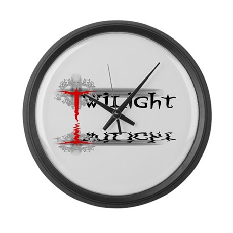 Twilight Reflections Large Wall Clock