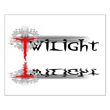 Twilight Reflections Small Poster