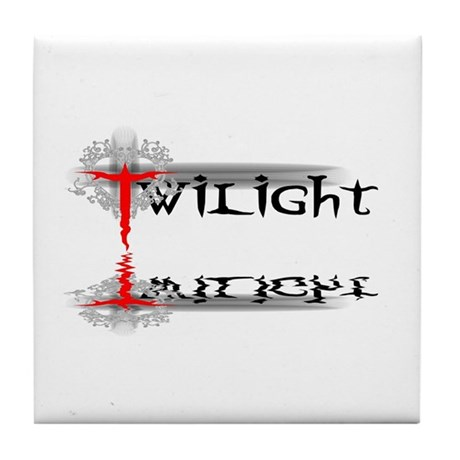 Twilight Reflections Tile Coaster