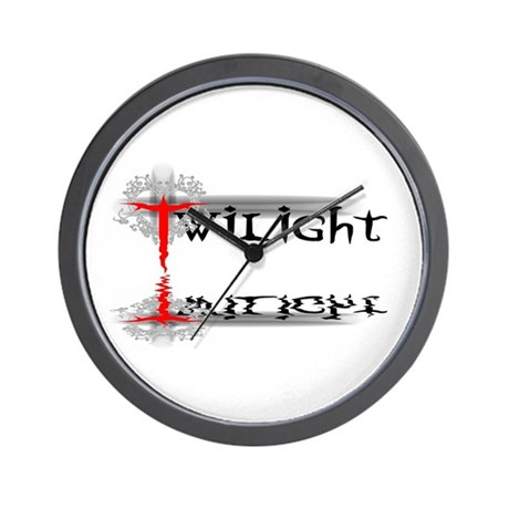 Twilight Reflections Wall Clock