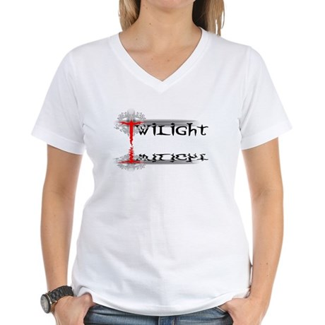 Twilight Reflections Women's V-Neck T-Shirt