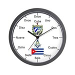 Cuban Masons Wall Clock