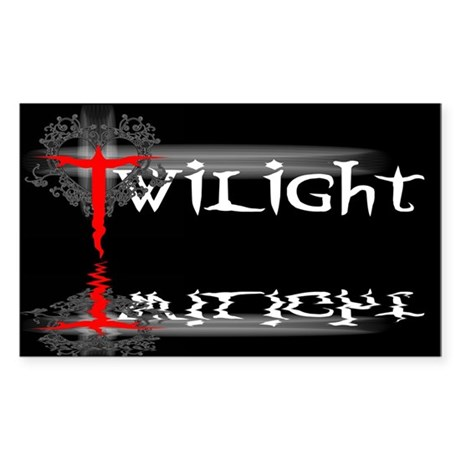 Twilight Movie Rectangle Sticker 10 pk)