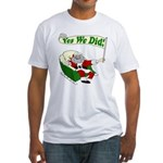 Santa for Obama: Yes We Did T-Shirt