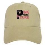 I Wear Pink For The Cure 31 Baseball Cap