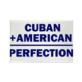 Cuban American Rectangle Magnet (10 pack)