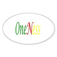Oneness Oval Sticker (50 pk)