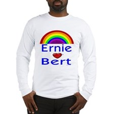 Ernie (hearts) Bert Long Sleeve T-Shirt