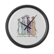 Pride and Prejudice Ch 54a Large Wall Clock