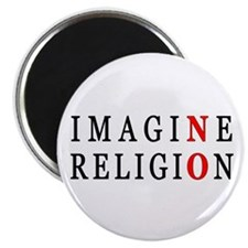 "Imagine No Religion 2.25"" Magnet (10 pack)"