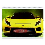 FRANK4CARS Exotic Car Calendar
