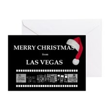 Santa Cap Merry Christmas from Las Vegas Cards 10