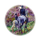 Afternoon Ride - Ornament (Round)