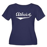 Atheist Women's Plus Size Scoop Neck Dark T-Shirt
