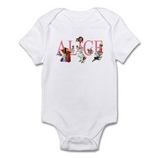 ALICE & FRIENDS IN WONDERLAND Infant Bodysuit