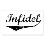 Infidel Rectangle Sticker