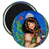 "Holly Princess 2.25"" Magnet (10 pack)"