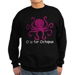 O is for Octopus Sweatshirt (dark)