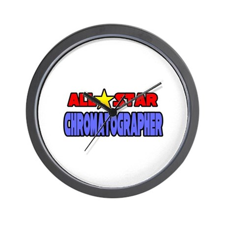 &amp;quot;All Star Chromatographer&amp;quot; Wall Clock