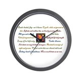 Shakespeare Festival Wall Clock
