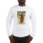 Christmas Sledding Long Sleeve T-Shirt