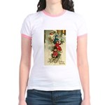 Christmas Sledding Jr. Ringer T-Shirt