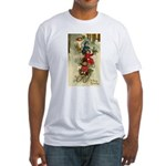 Christmas Sledding Fitted T-Shirt