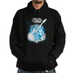 Rock N' Roll Death Crest Hoodie (dark)