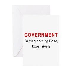 Expensive Government Greeting Cards (Pk of 10)