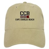 Baseball Cape Charles Beach Baseball Cap