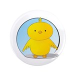 "Whee! Chick v2.0 3.5"" Button (100 pack)"
