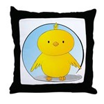 Whee! Chick v2.0 Throw Pillow